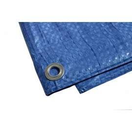 Bache Plastique 10x15 M Bleue 80g M Bache De Protection Polyethylene
