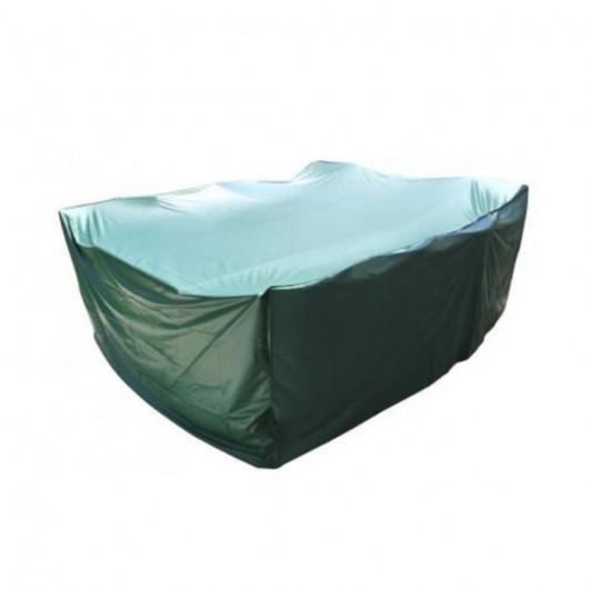 Housse De Protection Rectangle Table Et Salon De Jardin 270 X 180 X 90 Cm Pvc Haute Résistance Fermeture élastique
