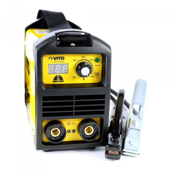 74df7b1b87e7c3 Le poste à souder Inverter VITO 140 est un produit de la gamme VITOPOWER.  Idéal pour réaliser des soudures propres et de qualité. Affichage numérique  de la ...