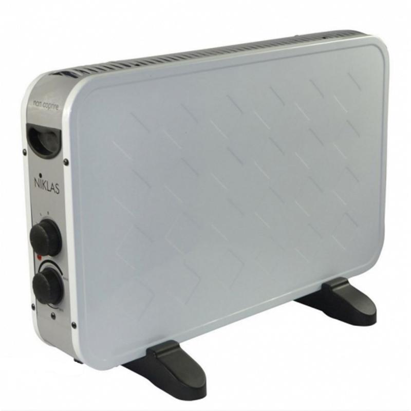 Radu0027ateur électrique Du0027appoint NIKLAS BISCOTTO Blanc Thermo Convecteur 2000  W Moderne Design Blanc 2 Niveaux De Chauffe Chauffage Du0027appoint Thermostat  Et ...