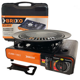 Réchaud gaz piezo grille BRIXO