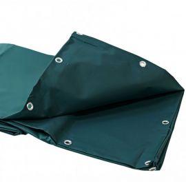 Bâche lourde verte 5 x 4 m PVC 680g - garantie plus de 10 ans